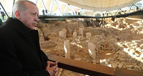 Erdoğan Göbeklitepe'nin Açılışına Katıldı