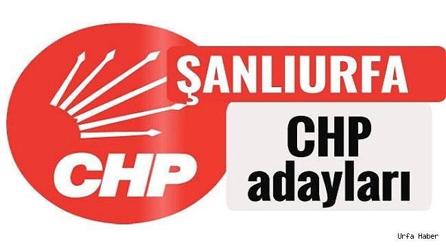 CHP'nin Urfa Adayları