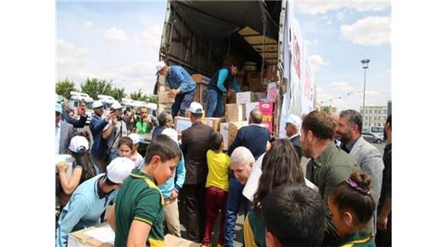 Şanlıurfa'dan Afrin'e insani yardım