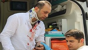 Urfa'da Öğretmen Servisi Kaza Yaptı: 5 Yaralı
