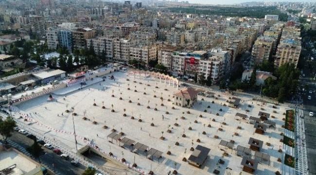Rabia (Topçu) Meydanı hizmete açıldı
