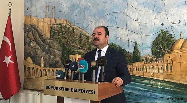 Çiftçi'den Şanlıurfaspor'a destek açıklaması