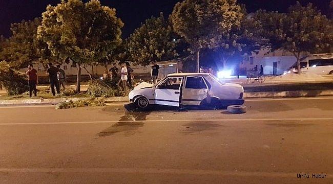 Hız merakı kaza ile bitti: 4 yaralı