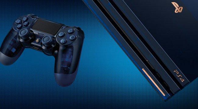PS4 Pro 500 milyon özel sürümü geliyor!