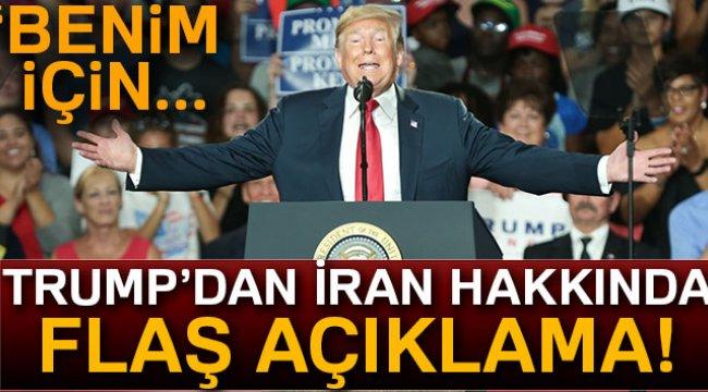 Trump: 'İran ekonomisi kötüye gidiyor'