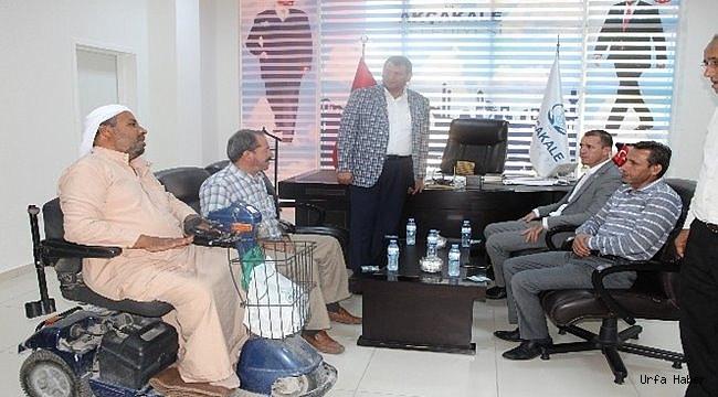 Vekil Özşavlı'dan Başkan Ayhan'a ziyaret
