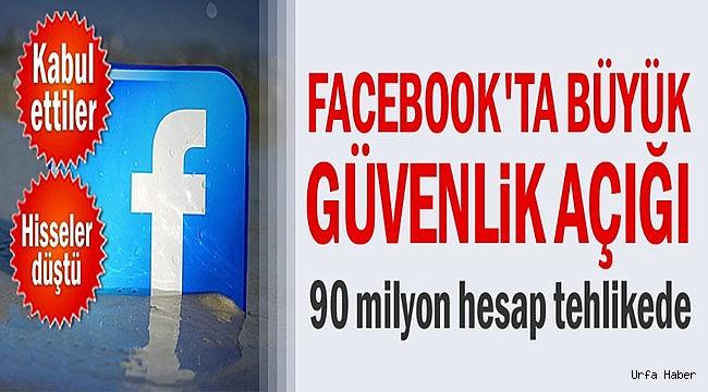 Facebook'ta büyük güvenlik açığı
