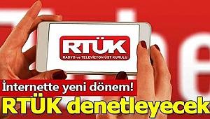 İnternet yayınları RTÜK denetimine bağlandı