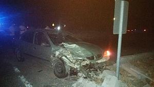 Şanlıurfa'da kamyonet ile otomobil çarpıştı: 8 yaralı
