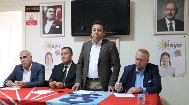 CHP'li Aydınlık Siirt CHP'yi ziyaret etti