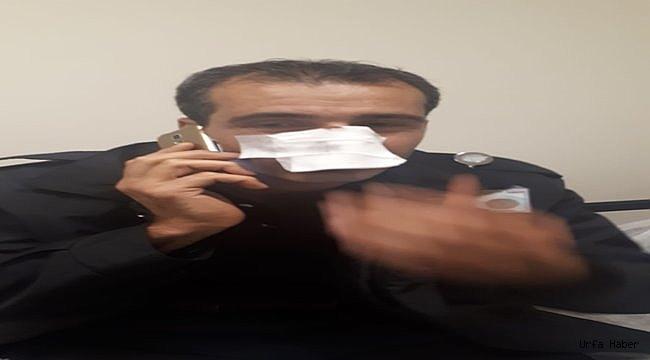 Kimlik soran güvenlik görevlisi darbedildi