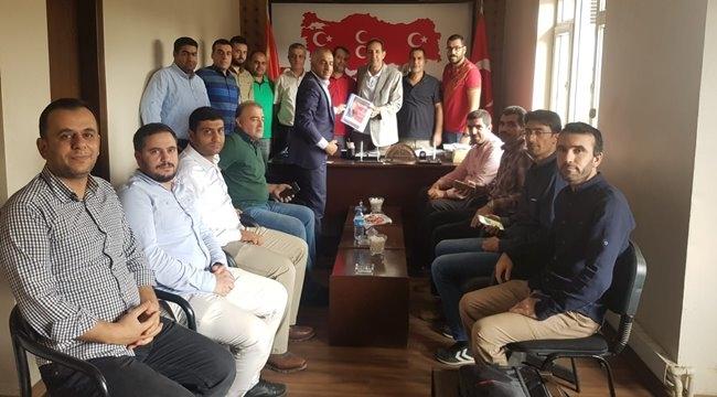 Sağlıkçılardan MHP İl Başkanına Ziyaret