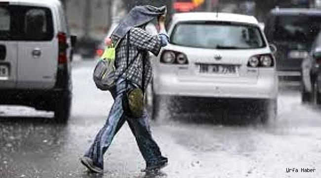 Dikkat Urfa'da şiddetli yağış olacak...