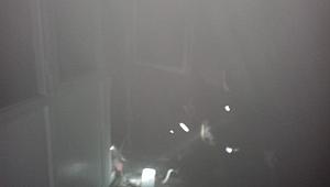 Urfa'da camiide yangın çıktı.