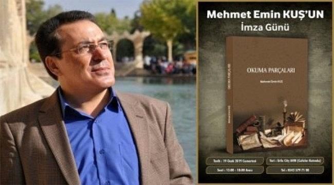 Yazar Mehmet Emin Kuş'tan yeni bir kitap