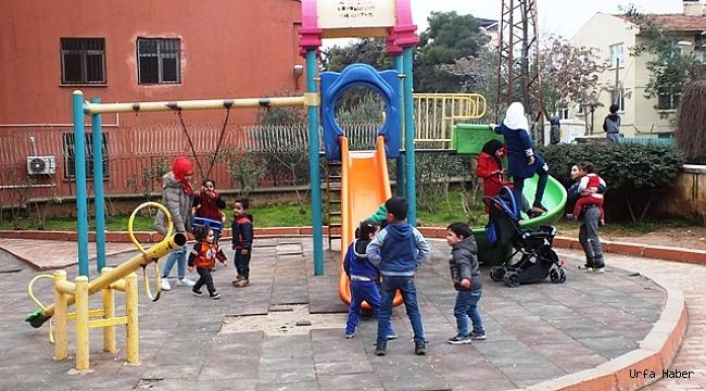 Çocuk parkı demeye bin şahit!