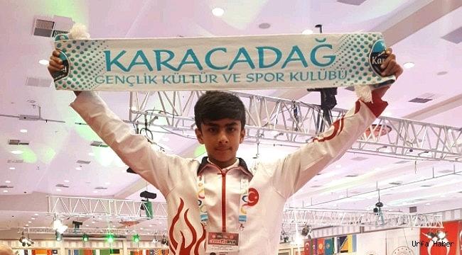 Karacadağ'ın Gururu Oldu