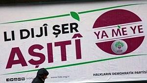 HDP'nin Urfa'daki Afişleri Toplatıldı