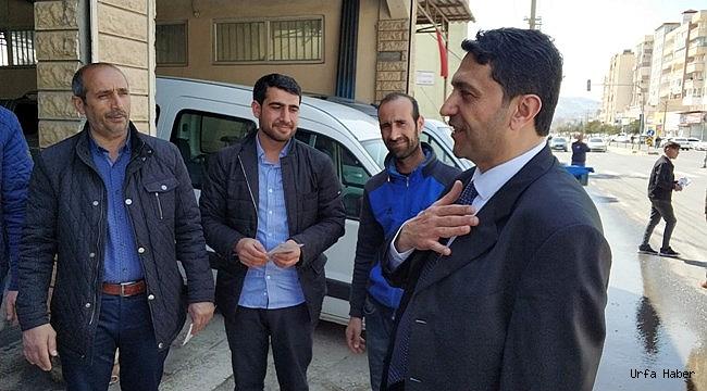 Hekimoğlu, Haliliye'deki Esnaf ve STK Temsilcilerini Dinledi