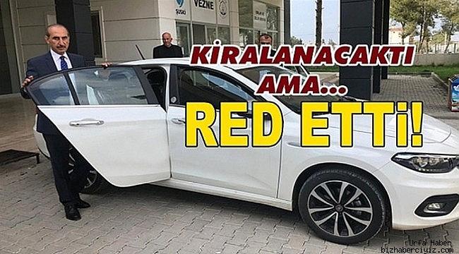 Başkan Yalçınkaya, Makam Aracını Reddetti