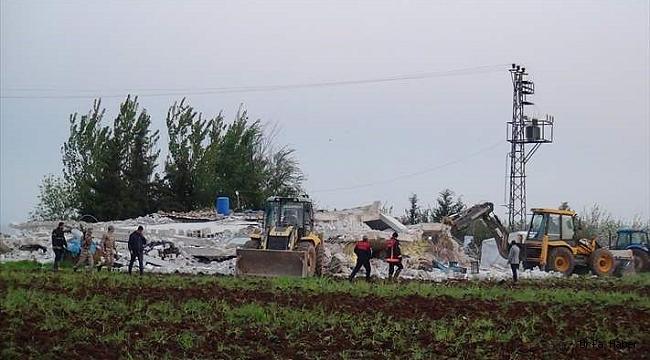 Şanlıurfa'da ambar çöktü: 1 ölü, 3 yaralı