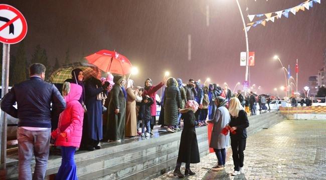 Şanlıurfa'da seçim kutlaması