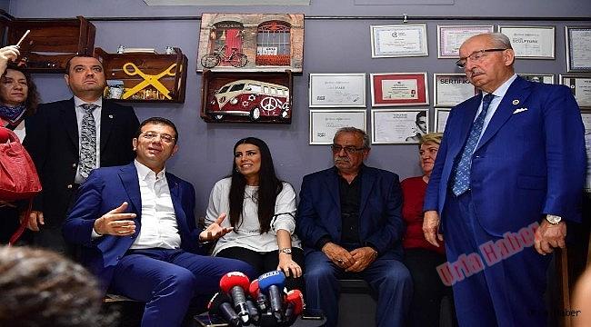 İnamoğlu'ndan Erdoğan'ın Manevi Kızına Ziyaret