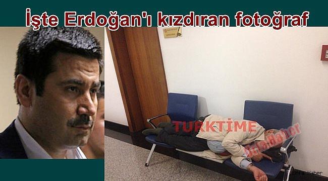 İşte Erdoğan'ı kızdıran fotoğraf