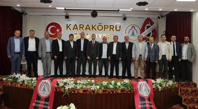 Karaköprü Belediyespor'da Aslan Güven Tazeledi