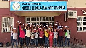 Mars'a isim gönderme kampanyasına Şanlıurfa'dan katılım