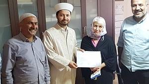 Moldova'dan Ceylanpınar'a Geldi Müslüman Oldu