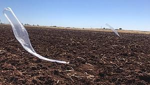 Şanlıurfa'da Uçan Balonlu Bomba Düzeneği Bulundu