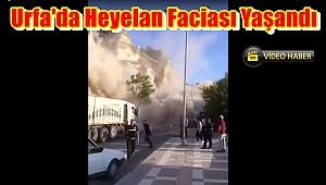 Urfa'da Heyelan Faciası Yaşandı
