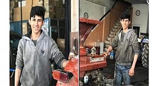 Urfa'da traktör kollarına kafası sıkışan işçi öldü