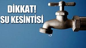 Urfa'lılar Dikkat: Sular Kesilecek