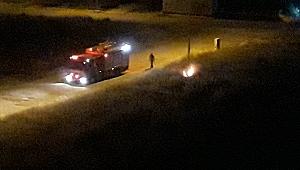 Urfa'da Sahurda Yangın Korkuttu