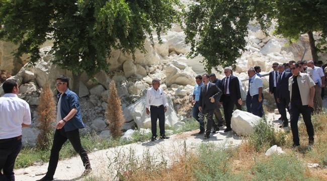 Bakan Yardımcısı Urfa'da Heyalan Bölgesinde