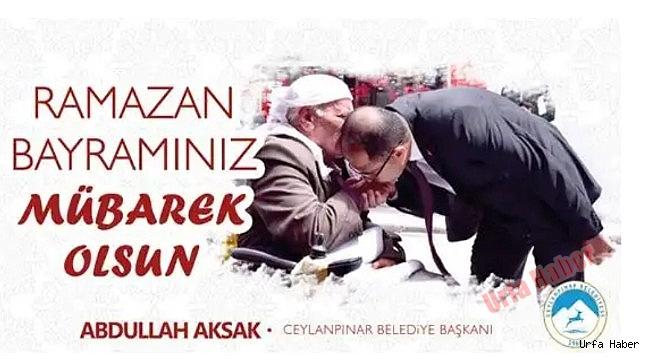 Başkan Aksak'tan Ramazan Bayramı Mesajı