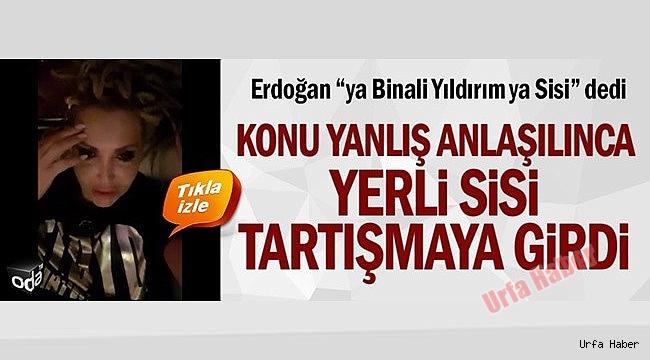 Erdoğan'ın SİSİ söylemine yerli SİSİ'de katıldı