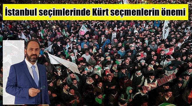 İstanbul seçimlerinde Kürt seçmenlerin önemi