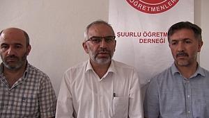 ÖĞDER Genel Başkanı Hamdi Sürücü Urfa'da