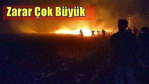 Şanlıurfa'da TİGEM arazisindeki yangın söndürüldü