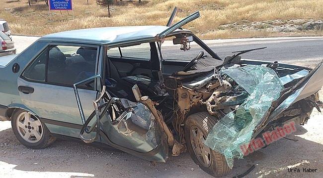 Şanlıurfa'da trafik kazası: 10 yaralı