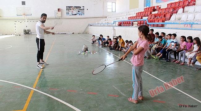 Suruçlu çocuklar sporla korunuyor