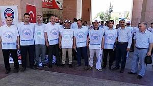 Urfa'da Sendikadan İmtihan Tepkisi