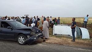 Urfa'da trafik kazası: 7 yaralı
