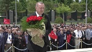 Beştepe'de ilk tören