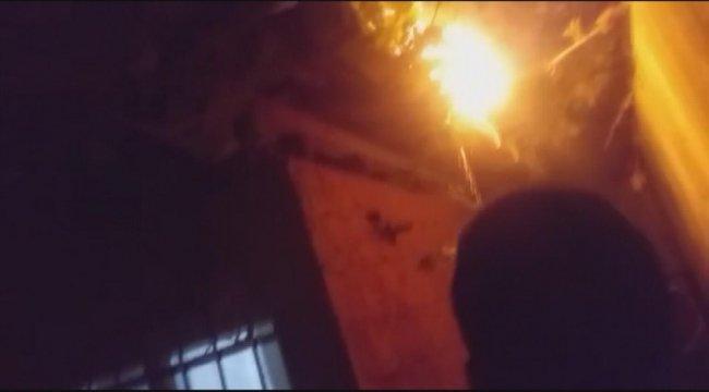 İki katlı ev kundaklandı