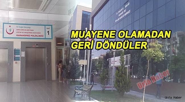 Karaköprü'de Doktorsuzluk Çilesi...