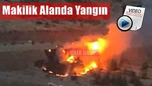 Urfa'da Korkutan Yangın -VİDEO HABER-